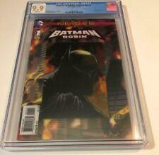 DC Comics BATMAN AND ROBIN FUTURES END #1 CGC 9.9 NOT 9.8 3D LENTICULAR COVER