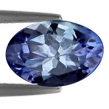 0.78 Ct Natural Purplish Blue Tanzanite Stone Oval Facet for Jewelry Setting