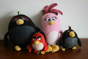 Angry birds plush toys 4'', 7'' and 9''