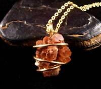 Aragonite Star Crystal Pendant Bronze #10