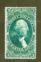 US Stamps # R85c $3 Revenue SUPERB USED Scott Value $65.00