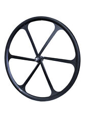 Teny 6 Spoke 700c Fixie Single Speed Road Bike Bicycle Wheel Front Black