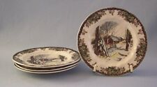 Johnson Brothers The Friendly Village Lot Of 4 Bread & Butter Plate Sugar Maple