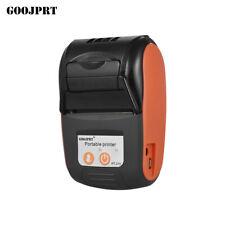 GOOJPRT Thermal Printer Handheld 58mm POS Receipt Printer for Retail Stores E4R2