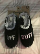 Dearforms Women's Slippers Size 5-6 W/Hair scrunchi