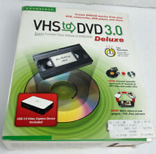 Honestech VHS to DVD 3.0 Deluxe + Music Cassettes & LP Conversion to MP3, CDs!