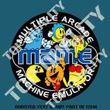 MAME RETRO GAMING DECAL STICKER OLD SCHOOL NOVELTY DECALS STICKERS RALLY DRIFT