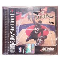 PS1 NBA Jam Extreme (Sony PlayStation 1, 1996) PS1 Complete Black Label CIB One