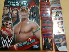 STICKER ALBUM  WWE THEN NOW FOREVER  100% COMPLETE