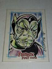 2008 Rittenhouse Archives - Fantastic Four Archives - SketchaFex - Al Bigley