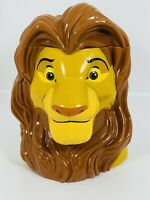 The Lion King Disney On Ice Simba Mug Cup Stein Flip Top Lid 3D Collectible