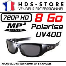 SUNG3 LUNETTES DE SOLEIL CAMERA MP3 SPORT ESPION HD 720P 8 GO POLARISÉ UV400