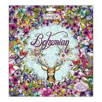 LOT PAPIER FEUILLE SCRAPBOOKING CARTE BOHEMIAN FAUNE FLORE NATURE 20 30 15 cm