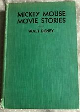 MICKEY MOUSE MOVIE STORIES - FIRST CANADIAN EDITION 1932 - WALT DISNEY