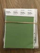 Pantone Cotton Swatch 15 6428 Green Tea