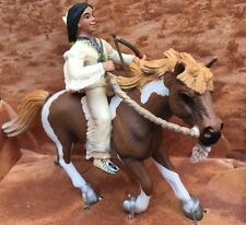 NEW Sioux Boy on Pony - Schleich #70302 Wild West Frontiers Series FREE SHIPPING