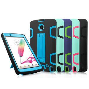 Hybrid Heavy Duty Protect Case for LG G Pad II 2/Gpad F 8.0/F2 LK460/X ll Plus