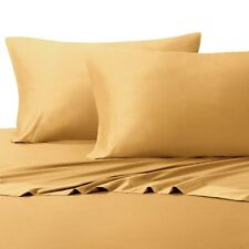 King Size Bamboo Sheet Sets Super Soft 100% Viscose from Bamboo-Color Gold