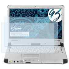 Bruni 2x Lámina Protectora para Panasonic ToughBook CF-C2 Película Protectora