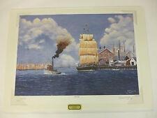 Sailing Day by Robert Young Tugboat Shipyard