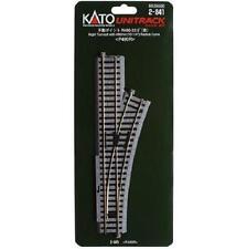 Kato 2-841 Aiguillage Droite Manuel / Manual Turnout Right R490 22.5° - HO
