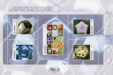 Belgium Nature Stamps 2020 MNH Geometry in Nature Flowers Pentagon 5v M/S