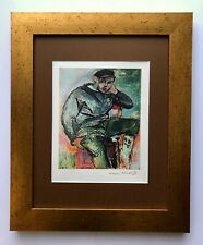 HENRI MATISSE ORIGINAL 1948 AWESOME SIGNED PRINT MATTED 11 X 14 + BUY IT NOW !!