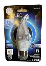 GE LED BULB 6.5W/60W EQ MED BASE CLR