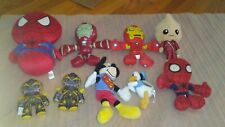 spider man, iron man, groot w/sound, Donald, super Micky, bumble bee (4-charity)