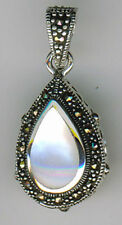 Mother of Pearl & Abalone Fine Gemstone Necklaces & Pendants