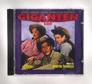 Giant - Film Soundtrack by Dimitri Tiomkin - CD Album - TSU 0106