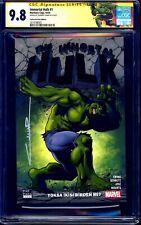 Immortal Hulk #1 TURKISH GLOW IN DARK VARIANT CGC SS 9.8 signed Cinar 1 of 10