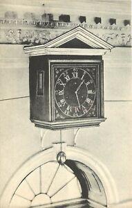 Seven Day Clock Entrance Hall Monticello Charlottesville Virginia Postcard