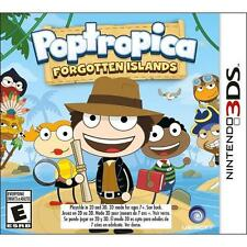 3DS Poptropica Forgotten Islands Nintendo 3DS Used Pop Tropica FREE SHIPPING