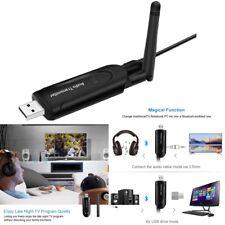 Bluetooth 4.1 USB Musik Sender 3.5mm Audio Music Transmitter Adapter für TV