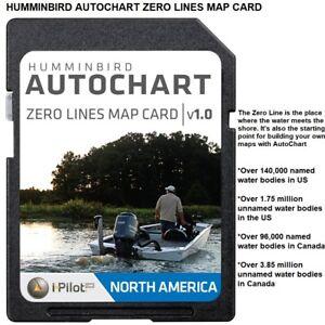 Humminbird AutoChart Zero Lines Map Card: Starting Your Mapping Adventure 57315