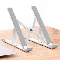 Aluminum Folding Adjustable Laptop Stand Tablet Holder Dock for MacBook Pro Air