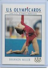 (12) 1992 IMPEL OLYMPIC SHANNON MILLER ROOKIE GYMNASTIC CARDS #46 ~ SWEET LOT