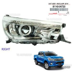 For Toyota Hilux Revo Sr5 2015 17 2018 Right Led Head Lamp Light Projector