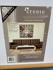 "FirsTime® 40"" Hues Studio Wall Clock"