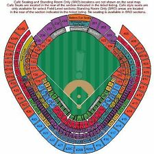 2 New York Yankees vs Tampa Bay Rays Tickets 07/30/17 Section 232A Row 12