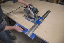 Circular Saw Cutting Guide System Accurate Rip-Cut Track Rail 24 In Wide Edge