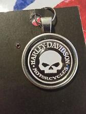 Harley-Davidson Willie G Skull Keyring
