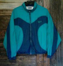 Reebok Vintage 80s 90s Retro Track Training Windbreaker Jacket Color block Xl