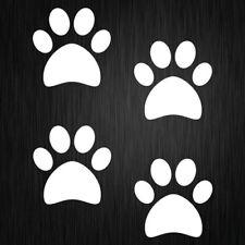 Paw Print Decal Dog Cat Window Car Vinyl Sticker 60mm x 60mm