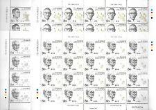 China 2006-11 Scientists of Modern China ( 4th Series ) 4V Full S/S 中國現代科學家(四)