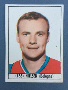 FIGURINA NUOVA ALBUM BAGGIOLI CALCIO ITALIA 1965-66  NIELSEN 165 BOLOGNA  NUOVA