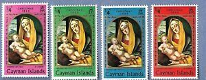 CAYMAN ISLANDS , 1969 , CHRISTMAS , SET OF 4 MNH ,