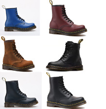 1460Series Hard Soft Leather Real Dr.Martens Classic Airwair Ankle Boots EU36-45