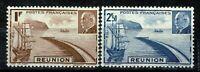 RÉUNION  n° 178 et 179 neufs (★) /Mint No Gum 1941